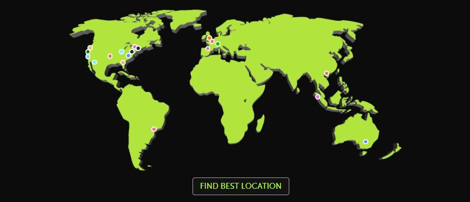 MCProHosting - Location Map