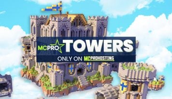 TOWERS! 🏰 Our Latest Minecraft Mini-Game.