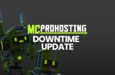 Addressing MCProHosting's recent downtime.