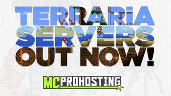 Terraria Joins MCProHosting's Library of Games!