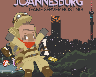 Server hosting in Johannesburg, South Africa is now available!