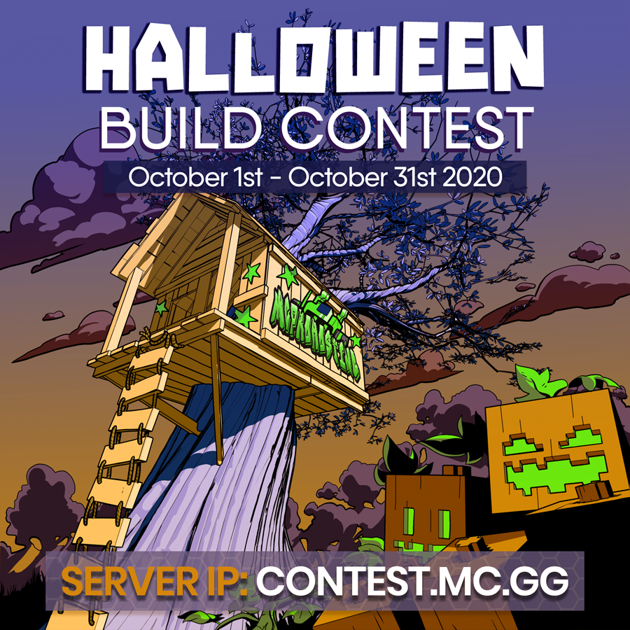 MCProHosting Halloween Build Contest 2020
