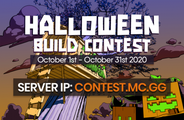 The Halloween Build Contest is here! 🎃