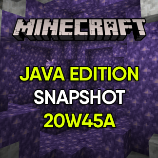 Minecraft Update: Snapshot 20W45A (New Features, Blocks, Items and more!)
