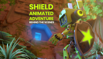 Shield Behind the Scenes – Creating the Animation, The DDaus & more! 🎥