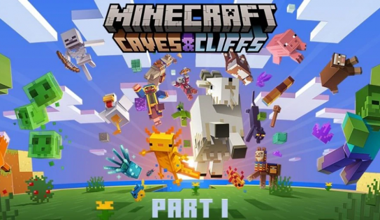 THE MINECRAFT: CAVES & CLIFFS UPDATE IS HERE
