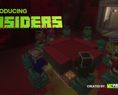 Insiders – The latest Exclusive Minecraft Mini game for MCProHosting.com