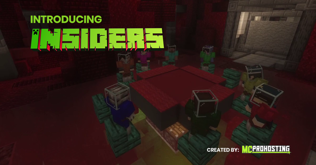 MCProHosting Insiders Minecraft Minigame Exclusive