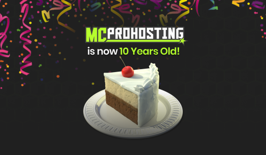 MCProHosting 10 Years in the Making